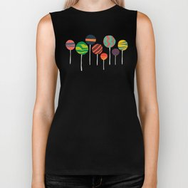 Sweet lollipop Biker Tank