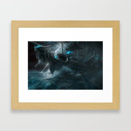 The Galley of Death Framed Art Print