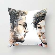 Rebels Without A Cause Throw Pillow