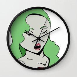 Monster Girl Pinups- Vampire Wall Clock