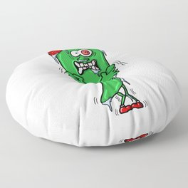 Chilly Chilli - Funny Hot Spicy Frozen Chilli Pepper Floor Pillow