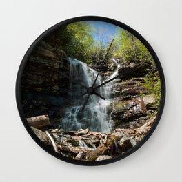 Glen Onoko Falls Wall Clock