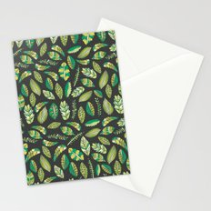 Night Tropical Jungle Stationery Cards