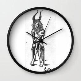 sitting Wall Clock