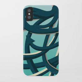 Octopus blue iPhone Case