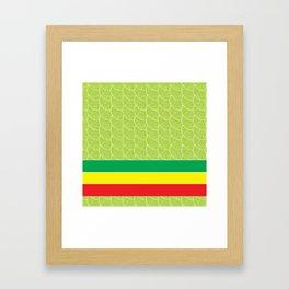RASTA VERSION Framed Art Print