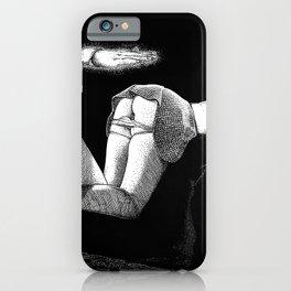 asc 877 - La main et les genoux (On my knees) iPhone Case