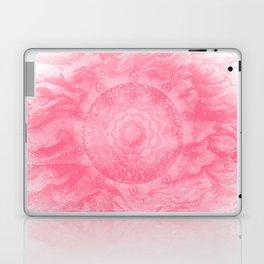 FLORAL MANDALA PINK Laptop & iPad Skin