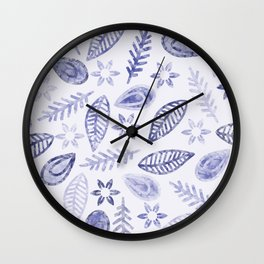 Floral #১ Wall Clock