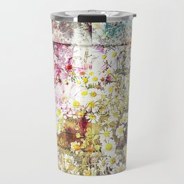 Wild flowers on display Travel Mug