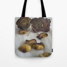 Wishbone and Roses Tote Bag