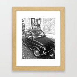 Italian car Framed Art Print