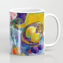 Still Life with Fruits and Flowers Coffee Mug