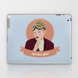 come here often? Laptop & iPad Skin