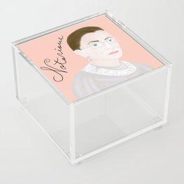 Notorious RBG RuthBaderGinsburg Acrylic Box