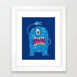 Peace Monster Framed Art Print