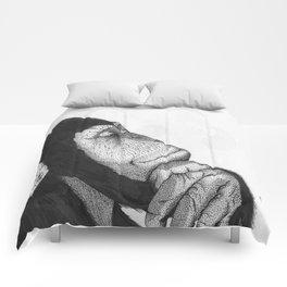 Thinking monkey Comforters