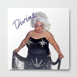 Divine - Love Reaction Metal Print