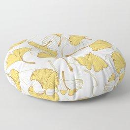 Ginkgo Pattern Floor Pillow