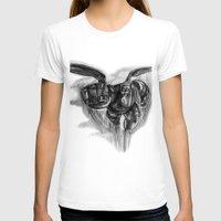 big hero 6 T-shirts featuring Baymax Big Hero 6 by VivianLohArts