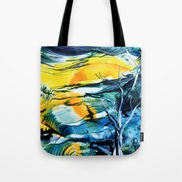 WinterFullMoon Tote Bag