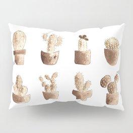 One cactus six cacti original version Pillow Sham