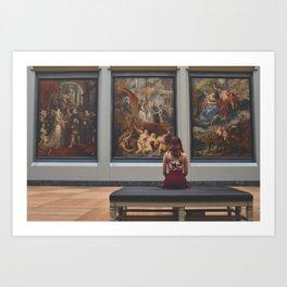 Art Gallery Art Print