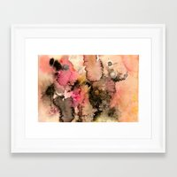 funky Framed Art Prints featuring Funky by Emily Kenney