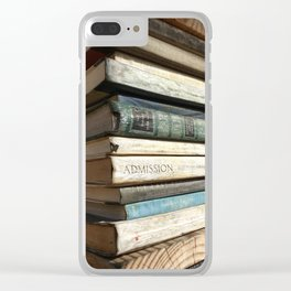 Admission Clear iPhone Case