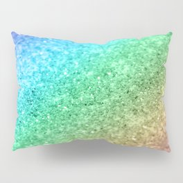 Rainbow Princess Glitter #1 (Photography) #shiny #decor #art #society6 Pillow Sham