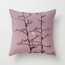 Luna  y Tequila Throw Pillow