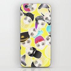 BIGBANG Collage (Yellow) iPhone & iPod Skin