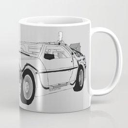 DeLorean DMC-12 Coffee Mug