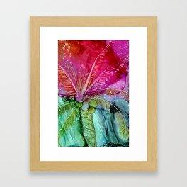 Colorful Palm Framed Art Print