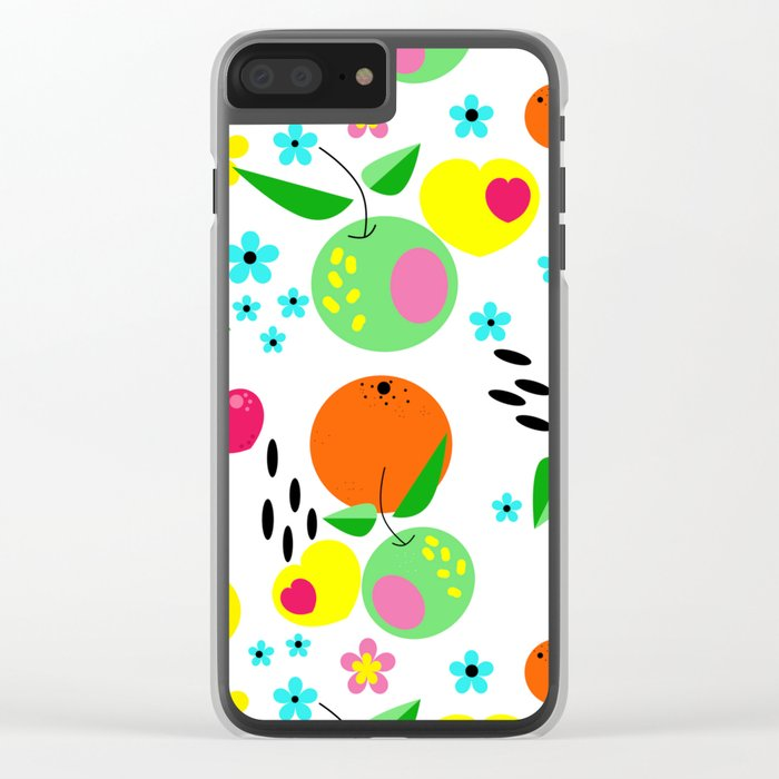 Fruity summer . Clear iPhone Case