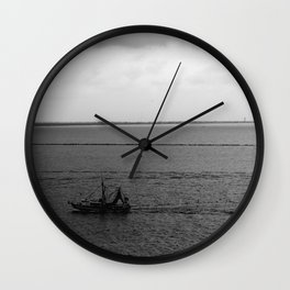 Heading Home with the Catch Wall Clock