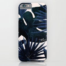Tropical Leaves - Midnight Slim Case iPhone 6s