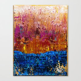 Sun will Never set for you (left side) Canvas Print