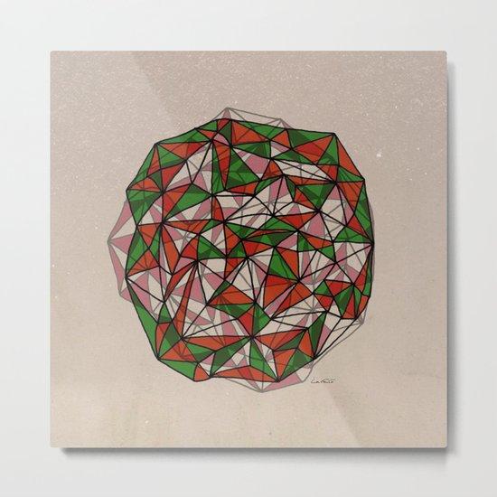 - red orange green - Metal Print