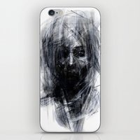 silent hill iPhone & iPod Skins featuring Silent by Gyossaith