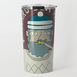 Beard Sea Man Travel Mug