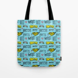 Butts Pattern Tote Bag