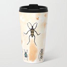 Beetles study Travel Mug