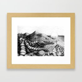 The Merger Framed Art Print