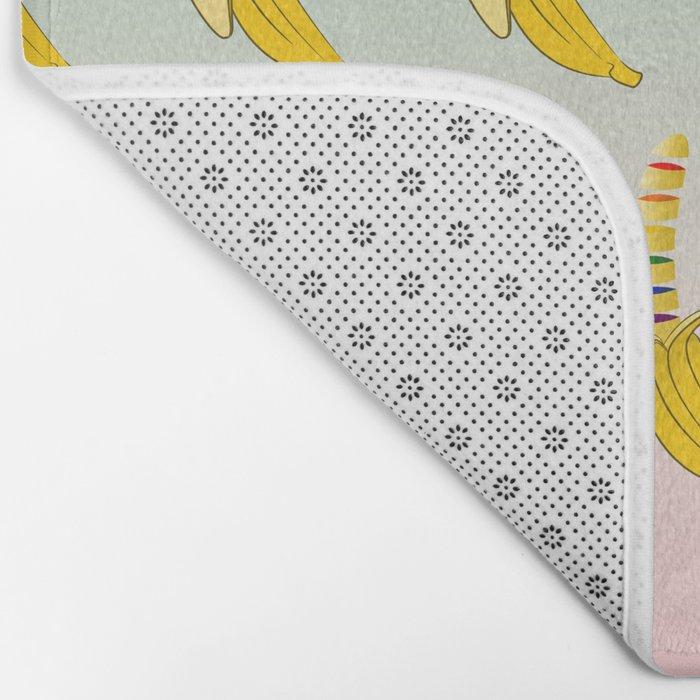 Gay Pride Banana Bath Mat