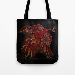 Creature of Fire (The Firebird) Tote Bag