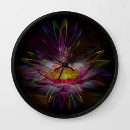 Abstract in perfection 95 Wall Clock