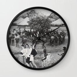 Jambo's Mambo Wall Clock