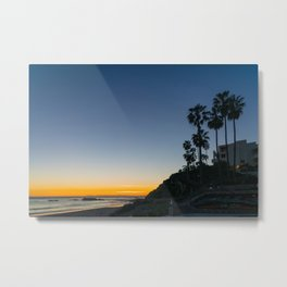 Laguna Palms at Sunset Metal Print