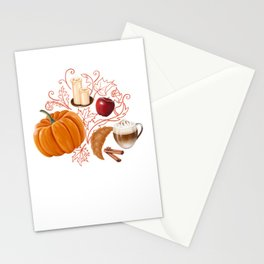 Rustic Fall Stationery Cards